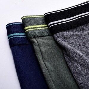 Image 4 - Hot sale Boxershort Boxer Short Men Underwear Male Underpants Homens Man Intimates Lingerie 7M15