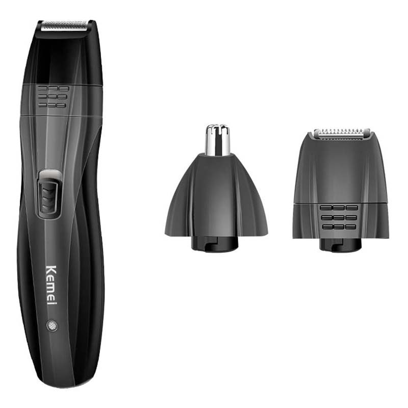 Kemei KM-6635 3 In 1 Rechargeable Nose Beard Trimmer Ear Sideburns Hair Trimmer Hair Clipper Professional Barber Shaving MachineKemei KM-6635 3 In 1 Rechargeable Nose Beard Trimmer Ear Sideburns Hair Trimmer Hair Clipper Professional Barber Shaving Machine