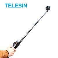 TELESIN Selfie Stick Extendable Monopod+3 way Tripod Mount+Phone Clamp for GoPro Hero 7 6 5 4 3 SJCAM Xiaomi YI Action Camera