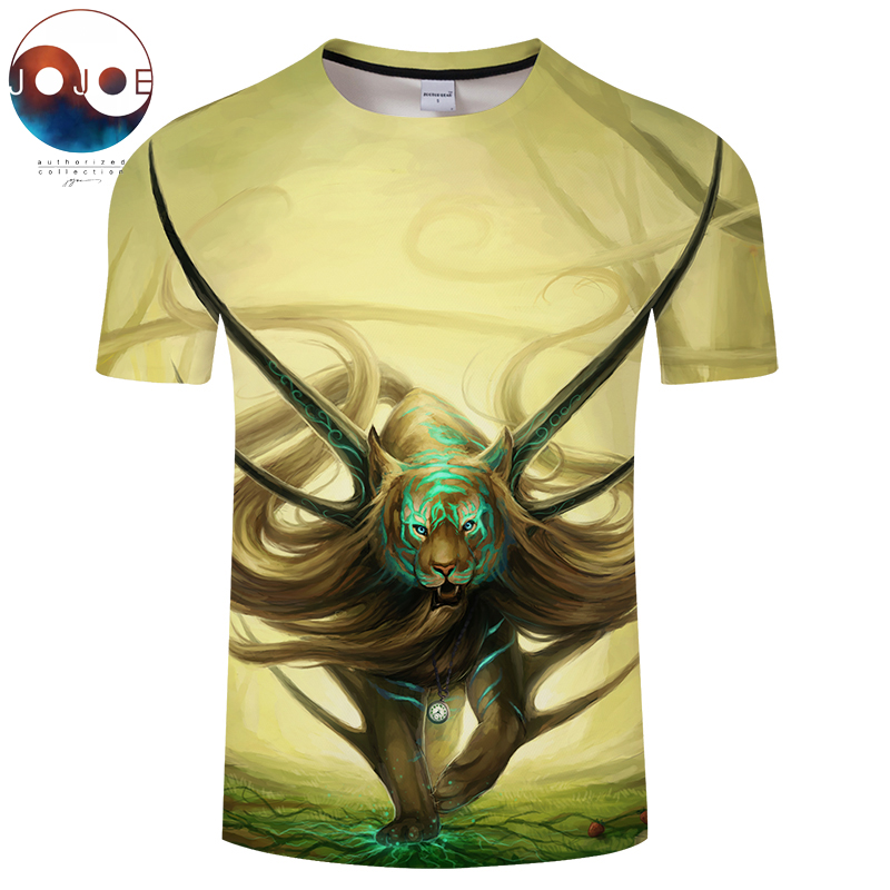 God of Evanescence By JojoesArt Tiger 3D Print t shirt Men Women tshirts Funny Short Sleeve O-neck Tops&Tees Camisetas Drop Ship