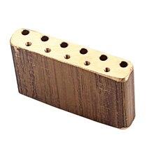 絶妙な真鍮ギターブリッジベーストレモロ用ストラト St エレキギター DIY