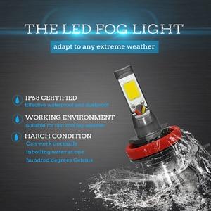 Image 5 - Ampoule de voiture anti brouillard, lumière blanche, bleue ou jaune, pour le jour, H8 H9 H11 H3 880 881 H27 LED, 12V 55W