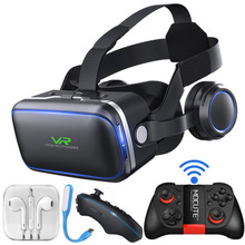 New generation 6 vr glasses 3D virtual reality ar game gun lens wear magic mirror