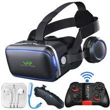 Новое поколение 6 VR очки 3D Виртуальная реальность AR Игра Gun объектив носить волшебное зеркало 3D очки гарнитура шлемы смартфон