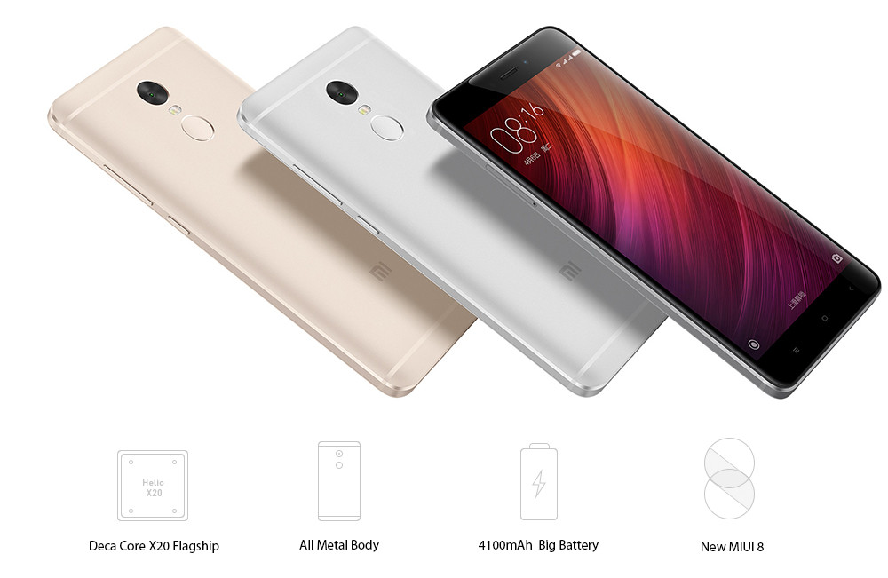 REDMI NOTE 4 CORE POINT process