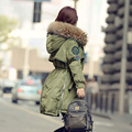 Winter Jacket Women 2016 Large Real Raccoon Fur Collar Hooded Down Parka Female Outwear For Women's Warm Slim Jackets And Coats