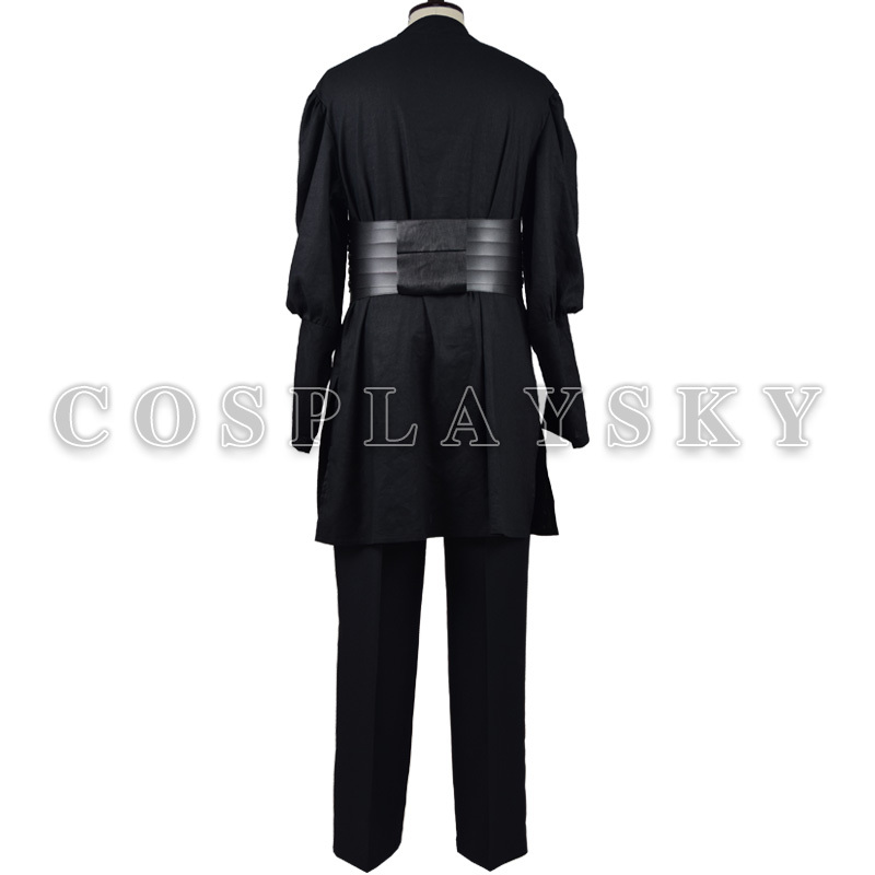 Star Wars Darth Maul Robe Cosplay Costume Linen Black Tunic Cloak ...