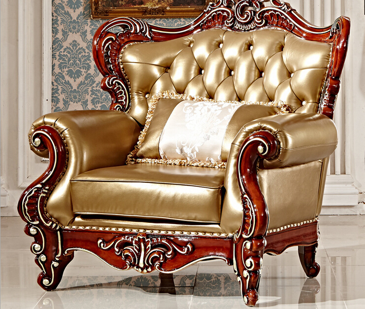 Carving Wood Sectional Sofa Set 3+2+1, Classic European Sofa Furniture  0409 In Dining Room Sets From Furniture On Aliexpress.com | Alibaba Group