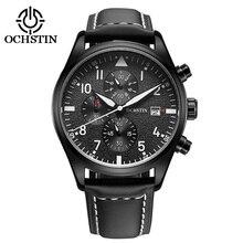 OCHSTIN Relogio masculino Relojes Para Hombre de Primeras Marcas de Lujo 2017 de Cuero Limited Hombres Militares Relojes de Los Hombres Del Cuarzo Del Deporte de Reloj Hodinky
