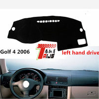 TAIJS LEFT Hand Drive Car Dashboard Cover For Volkswagen Golf 4 2016 Adumbral Pad Cover For