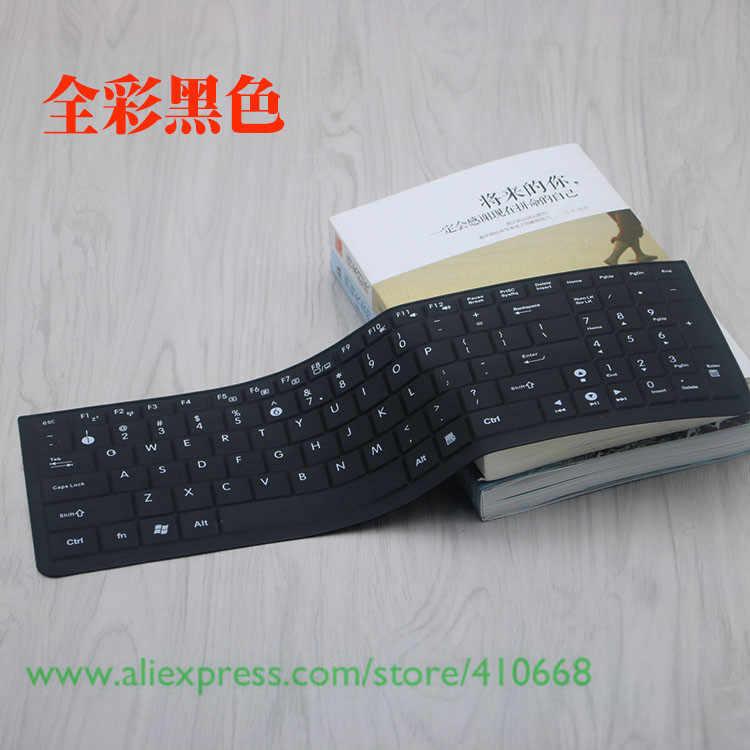 Funda protectora de silicona de 15,6 pulgadas para teclado para Asus K52 K53 K53S K72 K55V K56C K550D K550JK K555ZE K555LD K751 K501 ZX50