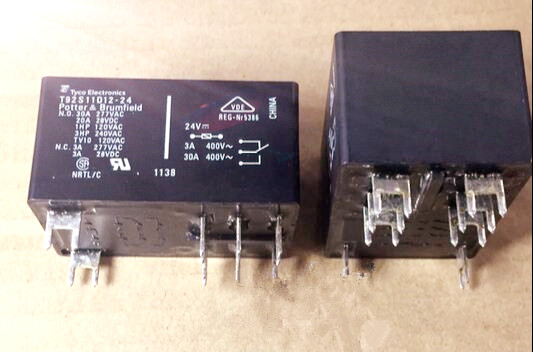 Подробнее о T92S11D12-24 TE Tyco SCHRACK T92 Relay 30A 24V 2 from C  DIP8  new and original signal relay agy2324 ds2y s 24v ds2y s 24 v agy2324