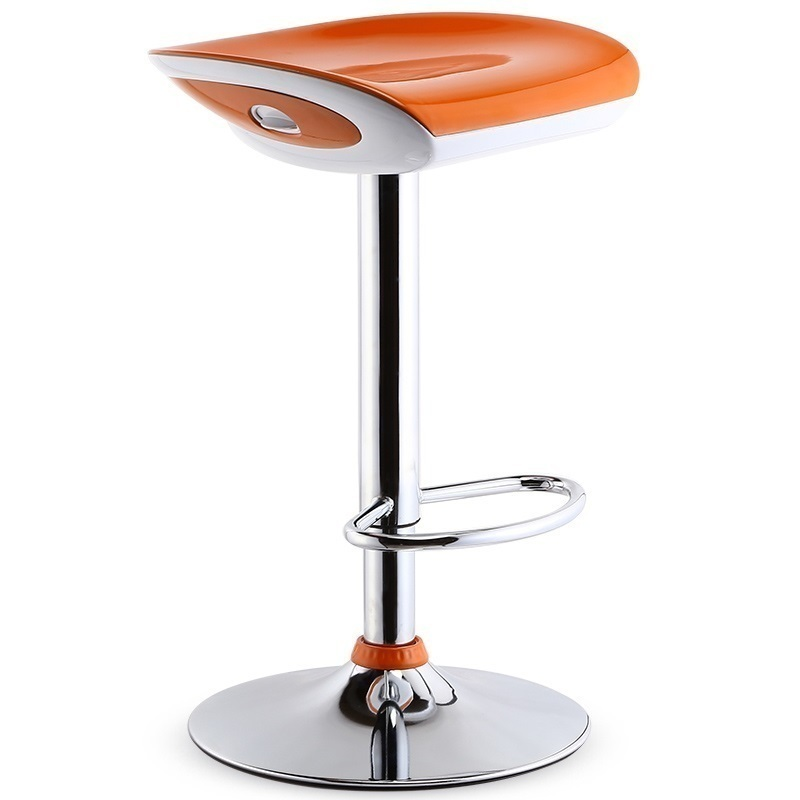 bar chair orange black color furniture shop stool retail wholesale free shipping black green color bar stool chair stool furniture shop green black red orange white color retail and wholesale free shipping