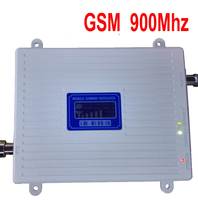 New & big power 30 dbm 65dbi gsm display LCD 900 mhz sinal de telefone celular impulsionador repetidor GSM impulsionador repetidor de sinal amplifer