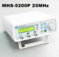Digital Signal Generator Dual Channel DDS Arbitrary Waveform Generator Function Signal Generator 25MHz MHS 5200P 50