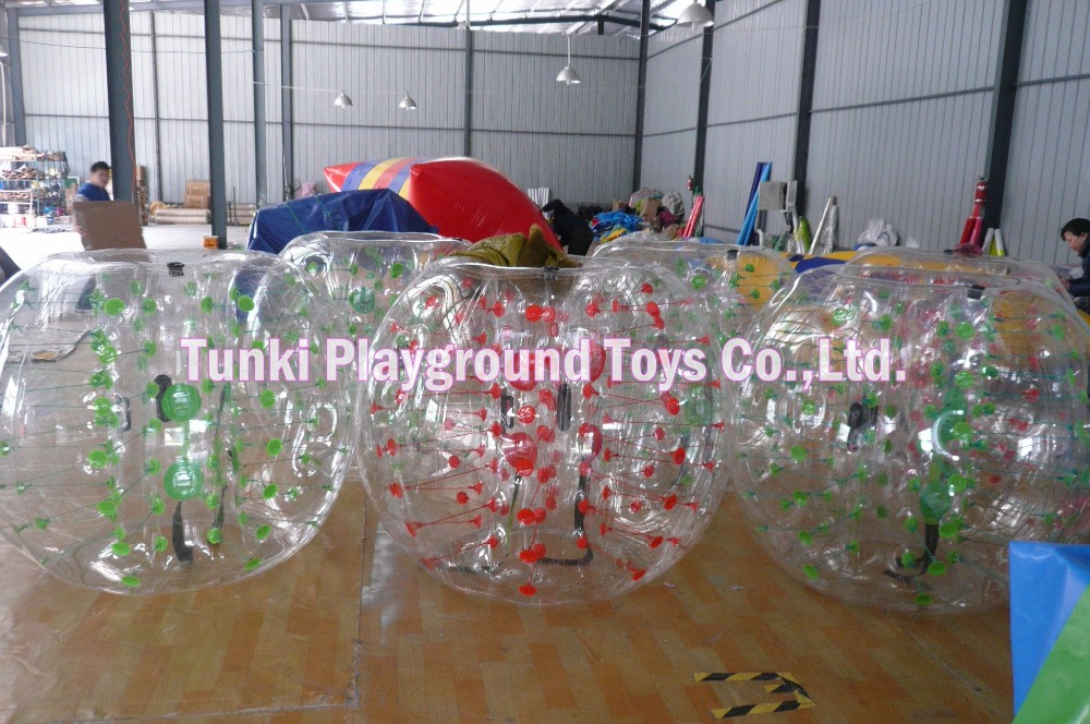Kids Or Adult Inflatable Soccer Bubble , Bubble Football For Sale
