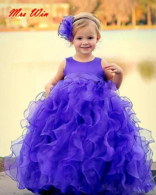 635d983e8d39 Cute Tutu Ball Gown Kids Toddler Pageant Dresses With Jewel Neckline ...