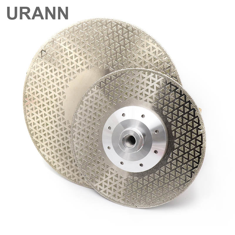 1pcs Electroplated Diamond Cutting Grinding Disc M14 Flange Diameter 100mm~230mm Saw Blade For Granite Marble Ceramic