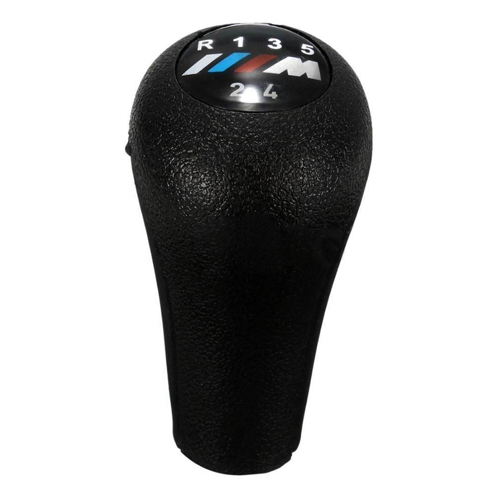 2018 Hot Sale 5 Speed Gear Knob Shift Stick Black For BMW 3/5 SERIES E30 E36 E46 5 E34 E39 X5