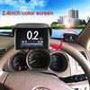 Car OBD Smart Digital Meter Alarm Fault Code Water Temperature Gauge Digital Voltage Speed Meter Display