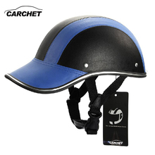 CARCHET Motorcycle Helmet Adjustable Motocross Half Open Face Helmets Soft Baseball Cap Style Bike Helmet 7