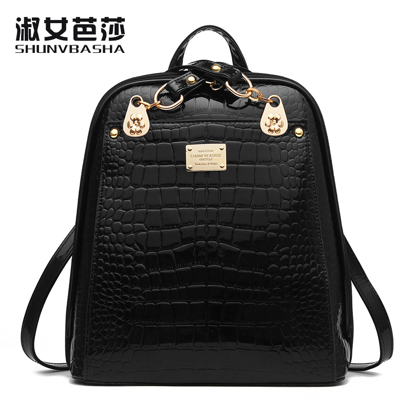 Backpacks For Teenage Girls School Bags High Quality Small PU Leather Top-handle Bags Women New 2017 Fashion Cheap Back Packs *