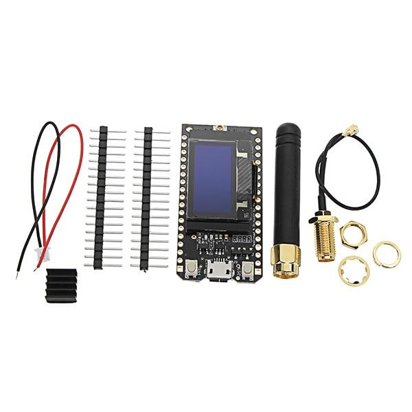 LORA32 868/915 Mhz SX1276 ESP32 Oled-display Bluetooth WIFI Lora Modul