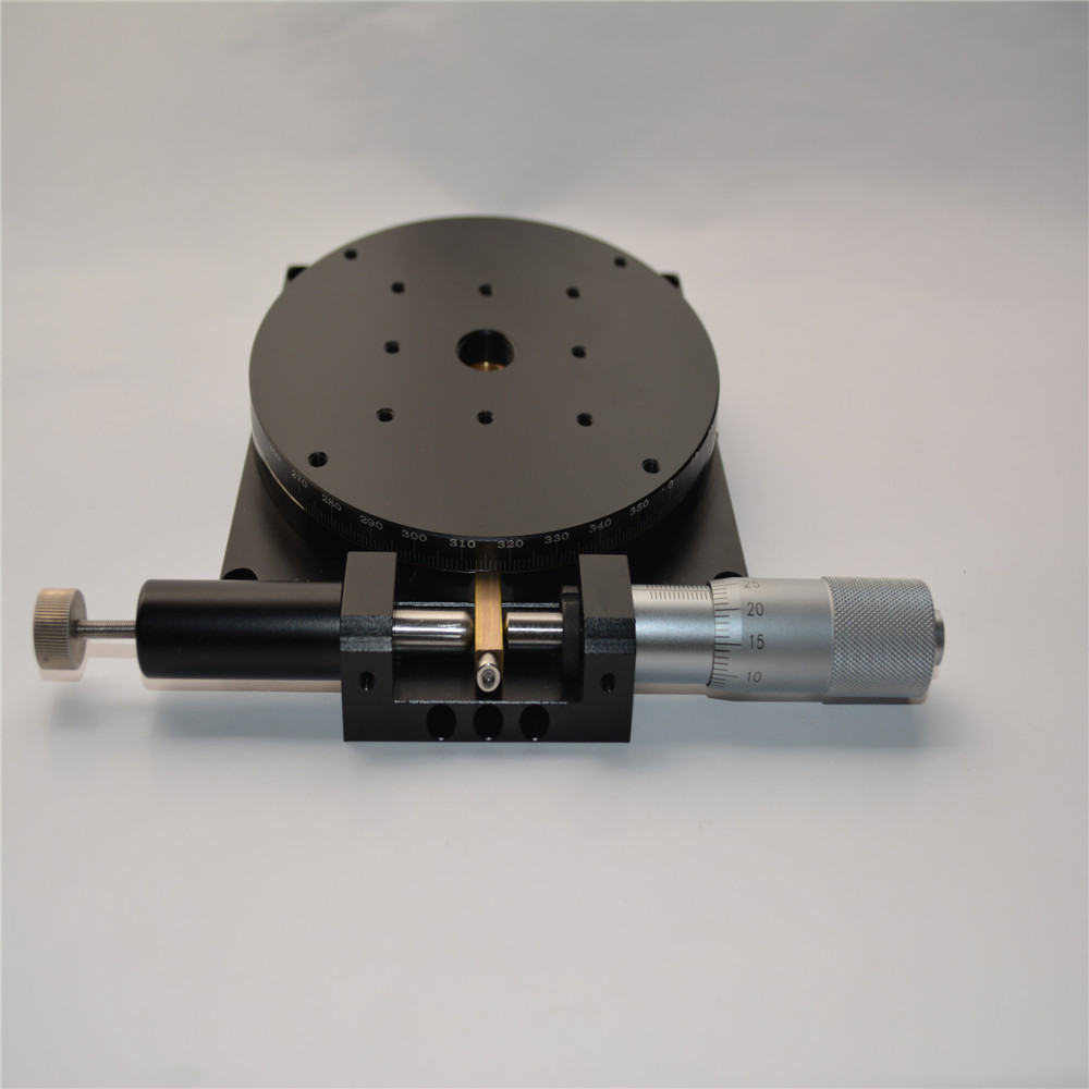 где купить R Axis Running installation type Trimming Station Manual Displacement Platform Linear Stage Sliding Table 125*125mm RJ125-L по лучшей цене