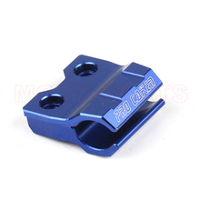 CNC Dirt Bike Offroad motorcycle parts accessories brake line hose mount clamp holder for yz450f yz125 yz 250 125 yz250f