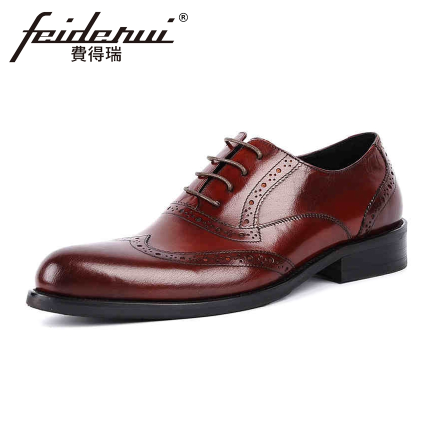Vintage British Designer Genuine Leather Men