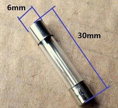 100 Pcs Fast Blow Ceramic Fuse 8 A 250V 6mm x 30mm 630