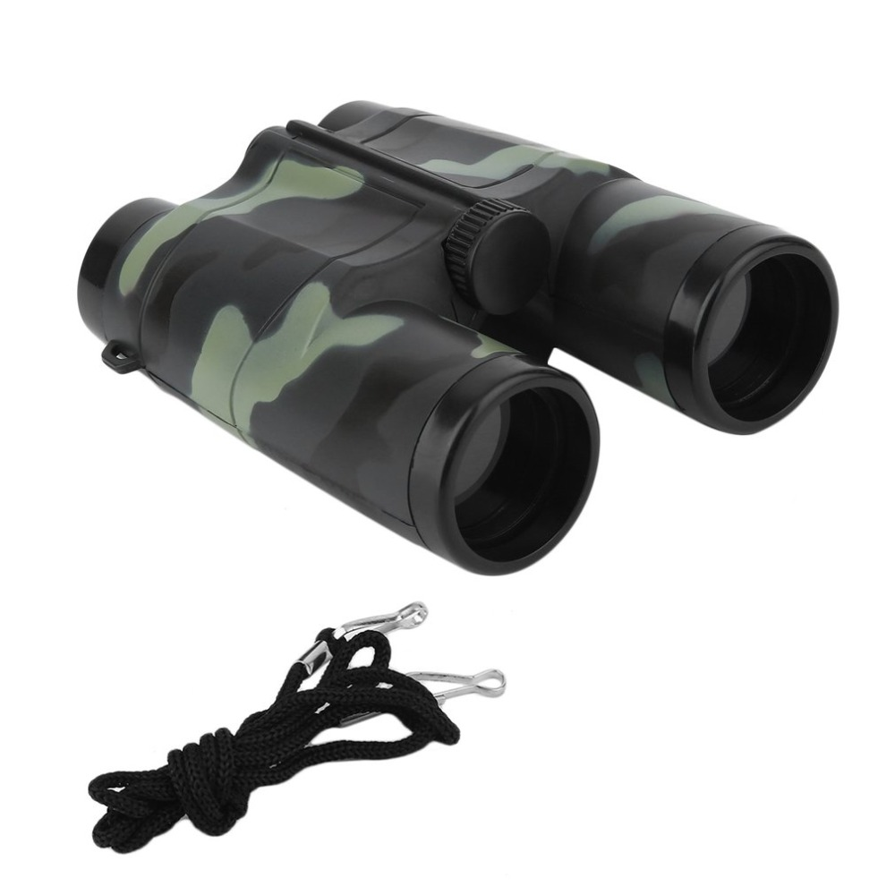 free shipping Children Kids Mini Portable Folding Binoculars Telescope Camouflage toy New HOT-in Monocular/Binoculars from Sports & Entertainment