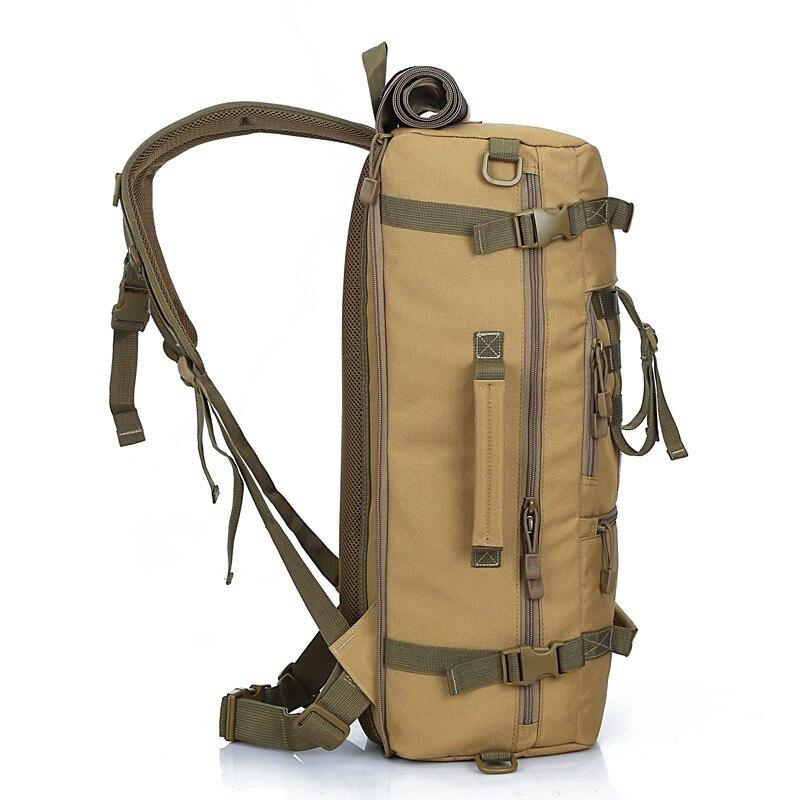 Hot Top qualité 50L nouveau militaire tactique sac à dos Camping sacs alpinisme sac hommes randonnée sac à dos voyage sac à dos - 3