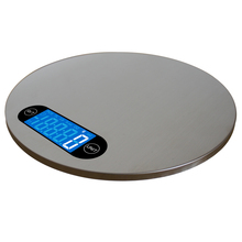 Practical 5KG/1g 4 Units Digital Scale Kitchen Cooking Measure Tools Stainless Steel Electronic Weight LCD Display Kitchen Scale