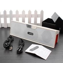 New Bluetooth Speaker Wireless HIFI Portable Speaker High Quality Music Surround Sound Box with FM Radio Black&Red