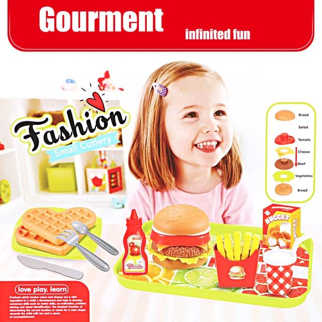 Juego De Comida De Plastico Para Ninos Juego De Cocina Juego De
