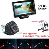 Best 3 In 1 Parking 5 Inch 800 480 Car Hd Display Wireless Intelligent Dynamic Trajectory
