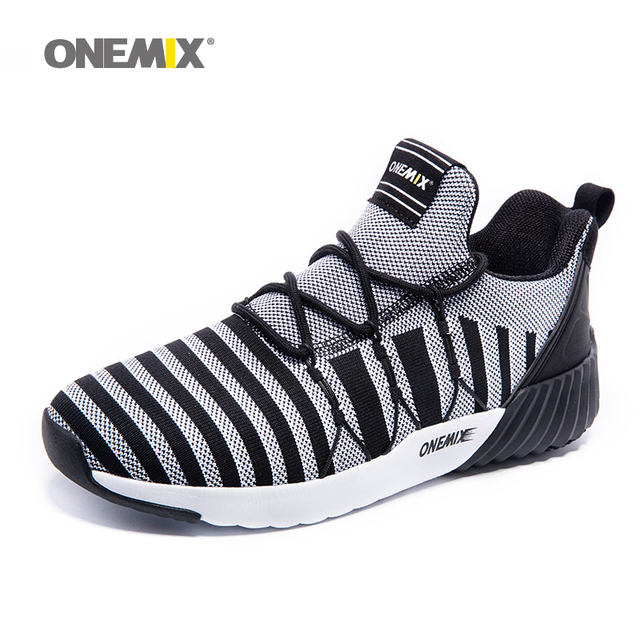 ONEMIX New Running Shoes For Men 2017 Warm Winter Sport Sneakers Thicken Tranier Shoes in Good Tranier Shoes Men Jogging Shoes