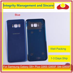 Image 3 - 50Pcs/lot For Samsung Galaxy S8+ Plus G955 G955F SM G955 Housing Battery Door Rear Back Glass Cover Case Chassis Shell