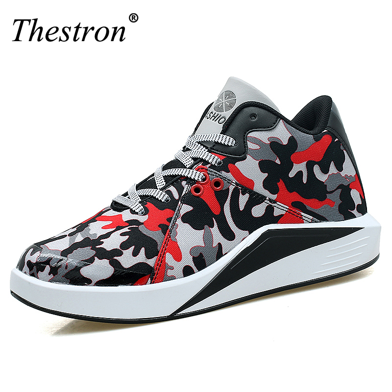 Mens Basketball Shoes Gym Training Shoes Men High Top Sneakers Male Footwear Sports Athletic Trainer Breathable Basketball Boots