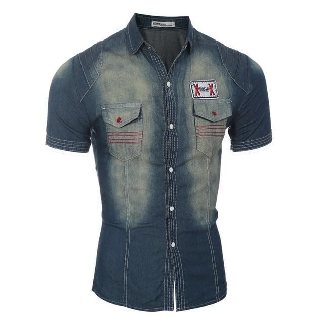 Men Short Sleeve Shirt Male Shirts Men Shirt Brand 2018 Mens Dress Shirts Hawaiian Camisa Social Masculina Jeans 3XL