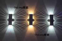 LED bar corridor wall bedroom TV sofa background light stair corner lamp simple European style
