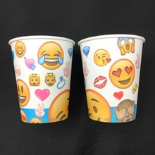 20pcs Moana theme printing paper cup tableware for birthday party drinking cups party decoration used screen printing machine for bottles cups mugs pens paper cup printing machine