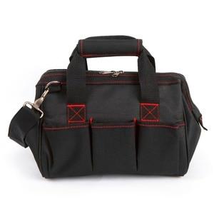 Image 3 - حقيبة أدوات WORKPRO 600D إغلاق واسع الفم حقائب كهربائي S M L XL للاختيار