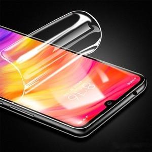 3D Screen Protector For Xiaomi Mi 10 9 8 lite SE Redmi Note 8 7 Pro Mix 2 2S Hydrogel Film Screen Guard Gel Full Cover Not Glass(China)