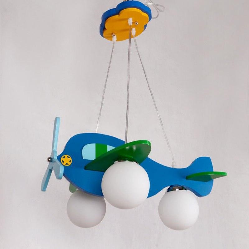 Moderna dječja spavaća soba Privjesna svjetiljka za zrakoplove - Unutarnja rasvjeta - Foto 4