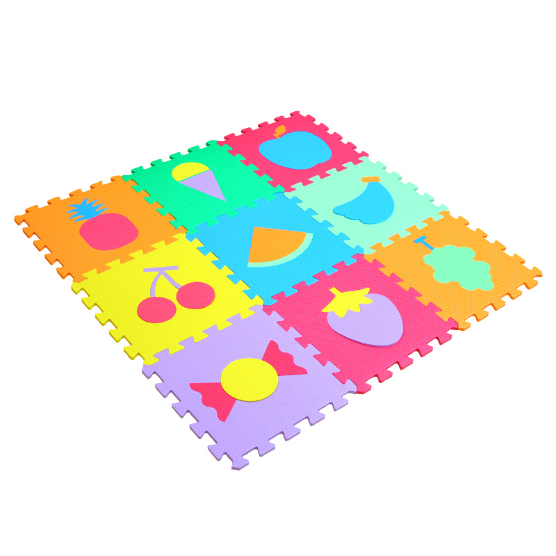 Children Room Mini Soft Bedroom Baby Play Puzzle Mat