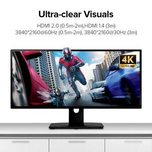 Image 3 - Ugreen 4KสายHDMI Slim HDMIถึงสายHDMI 2.0 PS4 Apple TV Splitter 60Hz audio Video CaboสายHDMI 2.0