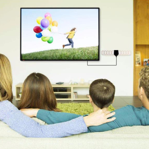 Image 5 - 20dBi Digital TV antenna DVB T2 Indoor Antenna F Plug 25 Miles 174 240mhz 470 862mhz 3.7M