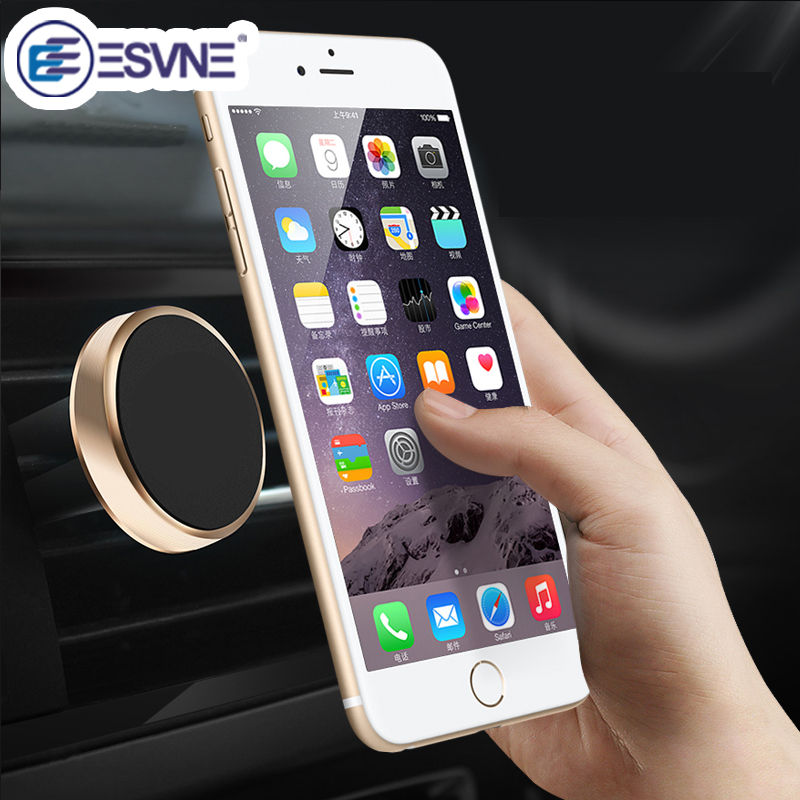 ESVNE Universal Magnetisk Telefon Holder Luft Vent Mount Stand Bil Telefon Holder for iPhone Bilholder Magnetisk Mobiltelefon Holder